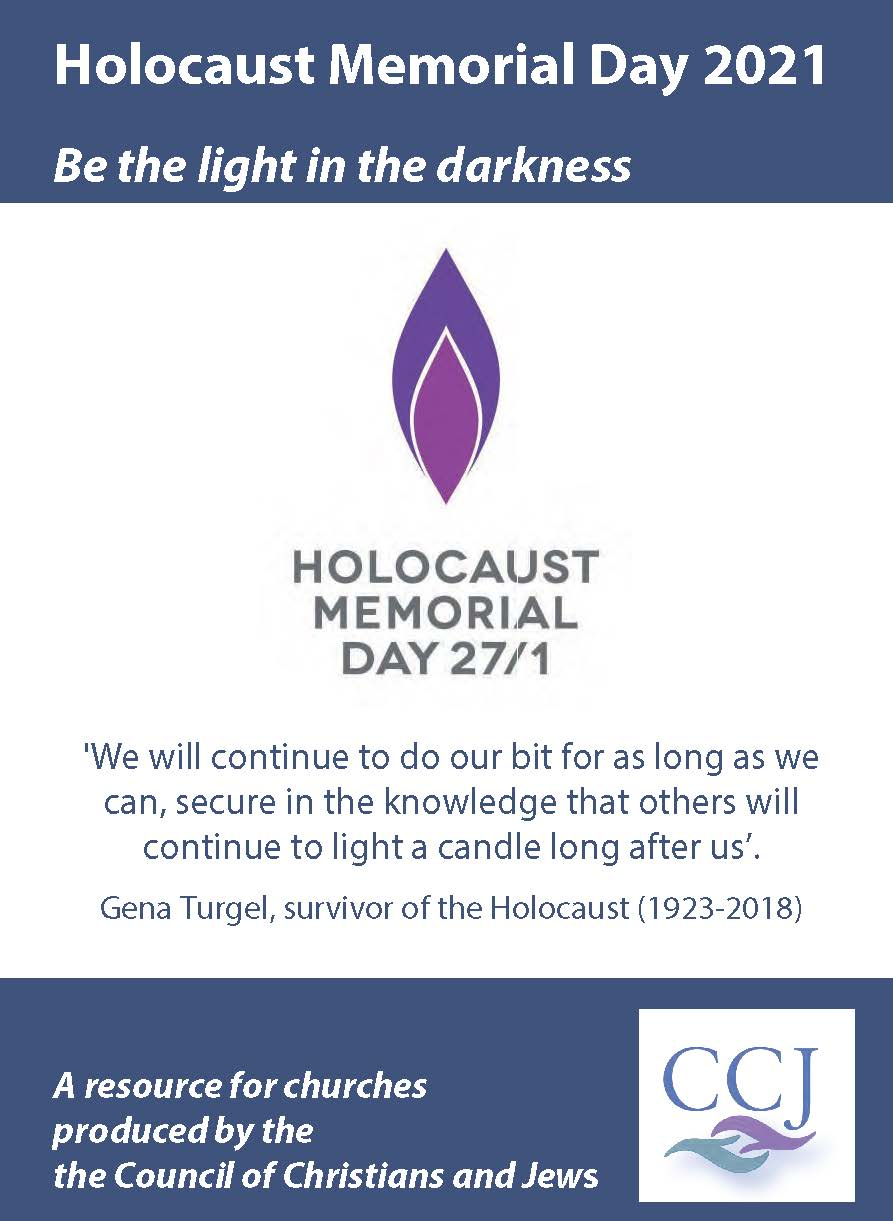 Holocaust Memorial Day 2021 resource