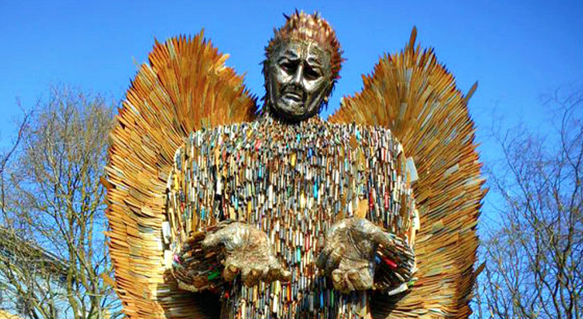 Knife angel credit Janet Ulliott