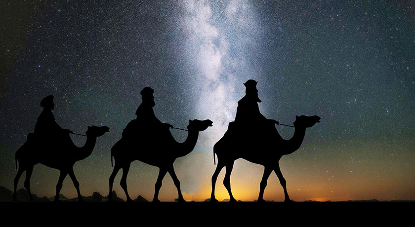3 wise men credit Kevin Phillips public domain pictures