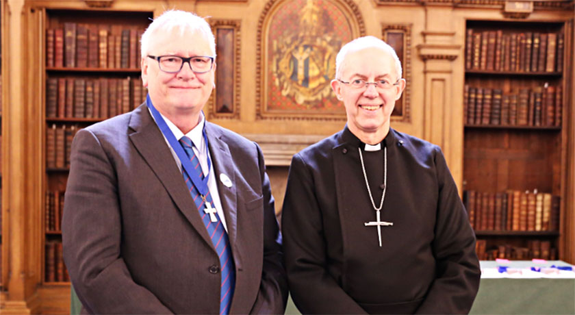 David Cornick and Justin Welby crop credit Church of England news banner