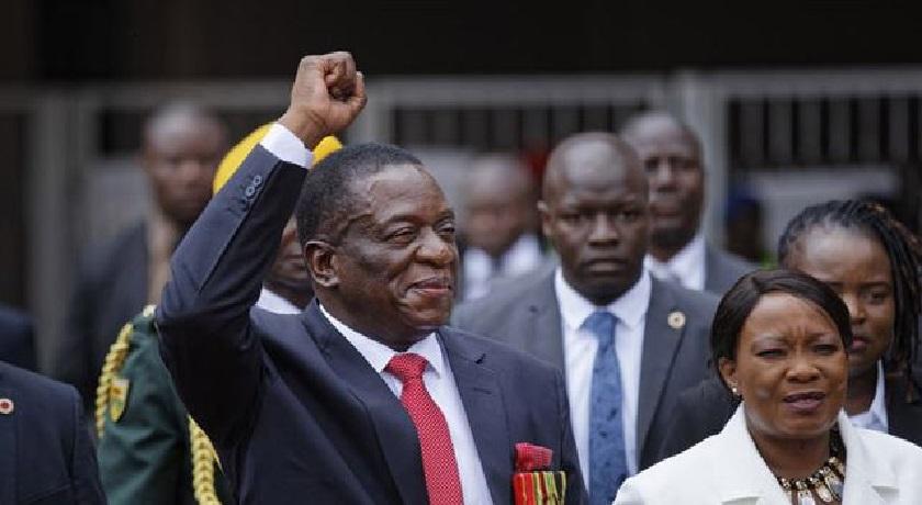 Emmerson Mnangagwa news banner