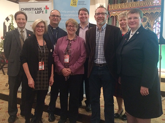 Free churches delegation and friends at labour conference