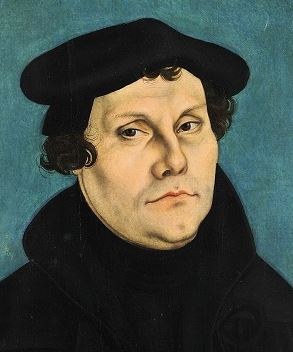 Martin Luther in 1528