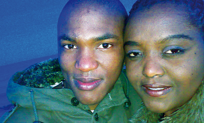 News banner Fusi and Nancy Motsamai