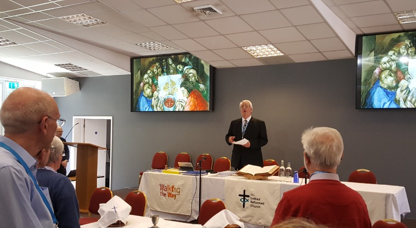 Nigel Uden Mission Council May 2019