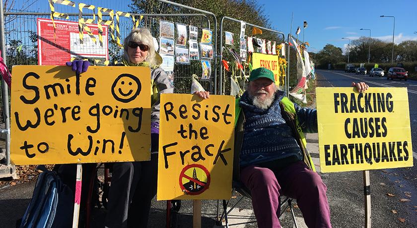 Protestors web