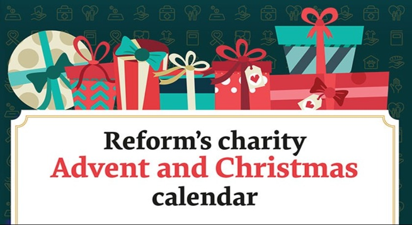 Reform Advent and Christmas Calendar 2019 charity guide