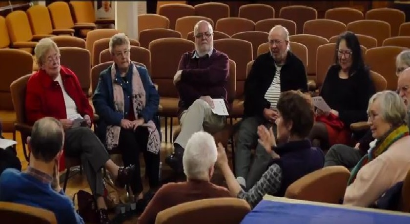 St Davids unity film and chat