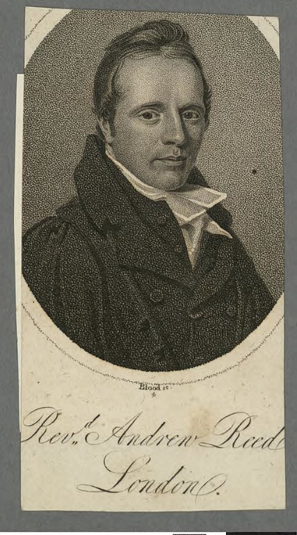 The Revd Andrew Reed credit A portrait from the Welsh Portrait Collection at the National Library of Wales wikimedia commons