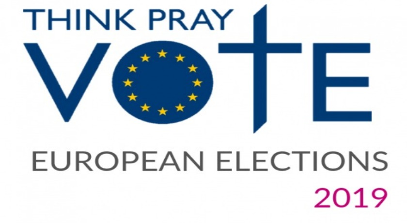 Think pray vote news banner formatted