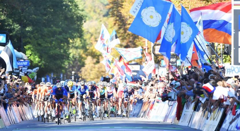 UCI Road World Championship cyclists credit SWPix