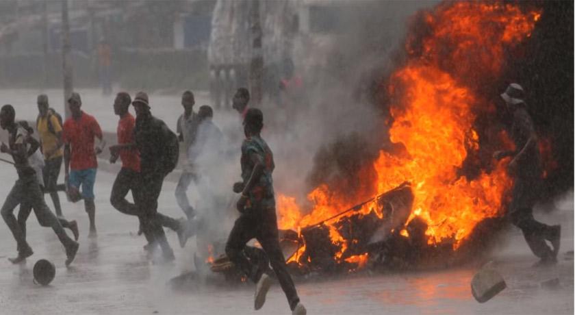 Zimbabwe protest 2