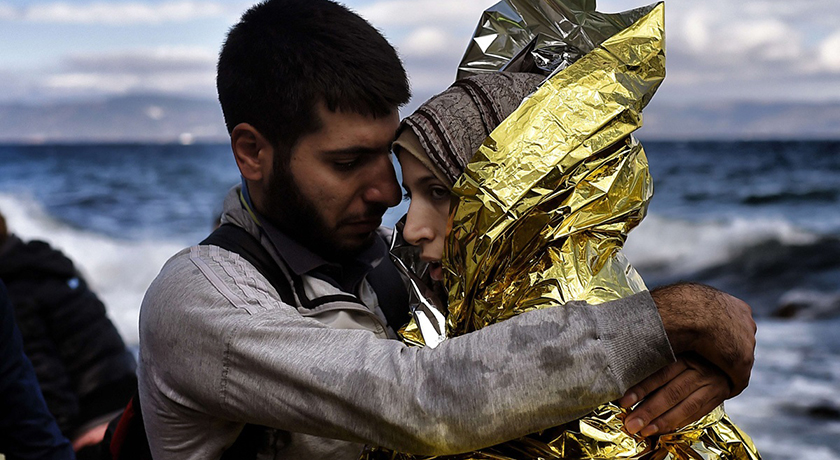 migrants after crossing the sea 21756135850 aa1c429a27 o
