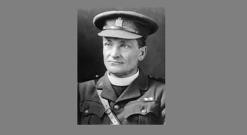 news banner the Revd Theodore Bayley Hardy VC DSO MC