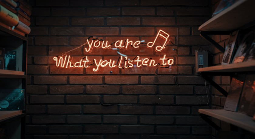 Your are what you listen to credit Mohammad Metri Unsplash