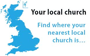 Find a Church link