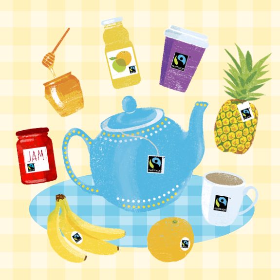 2017 Fairtrade Fortnight product illustrations thumbnail